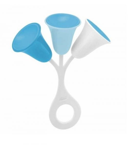Grzechotka dla dzieci Tulipan niebieski Chicco