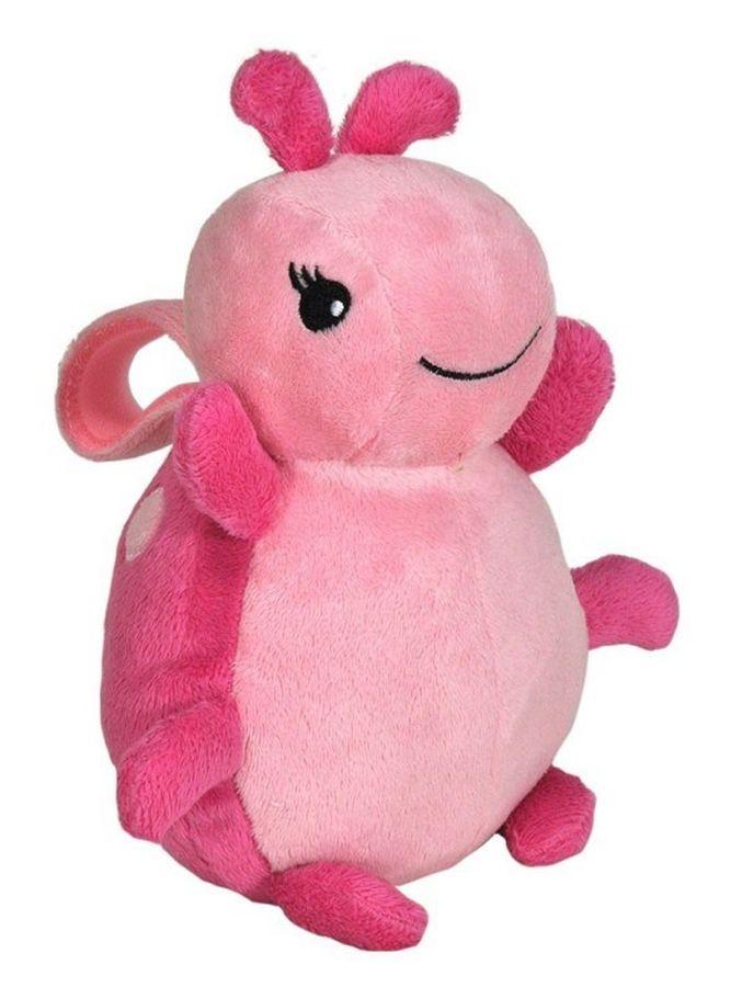 Cloud b żółw pozytywka dla dzieci i niemowląt Różowa Biedronka