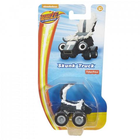 Fisher Price samochodzik Baze and The Monster Machines Skunk Truck