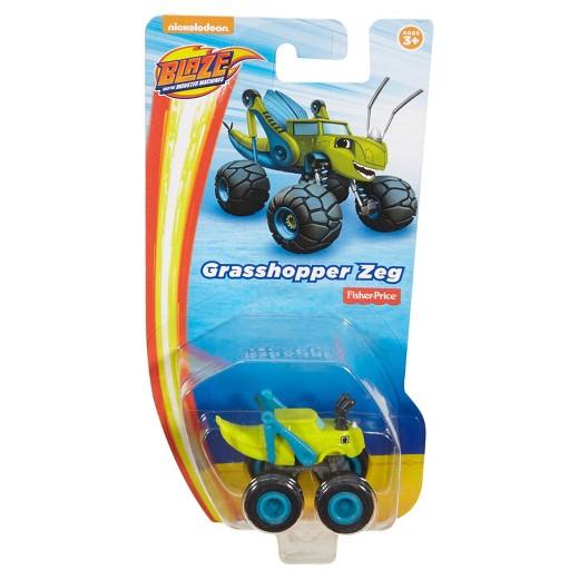 Fisher Price samochodzik Baze and The Monster Machines Grasshopper Zeg