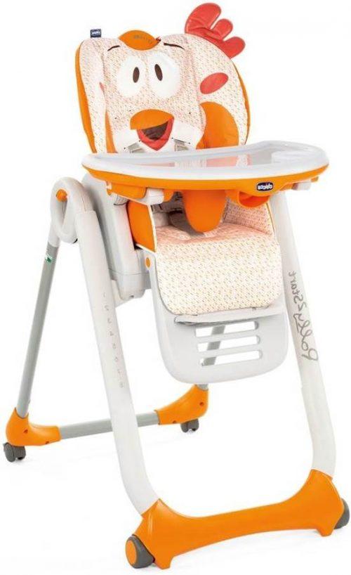 Polly 2 Start krzesełko do karmienia od urodzenia do 3 lat Chicco Fancy Chicken