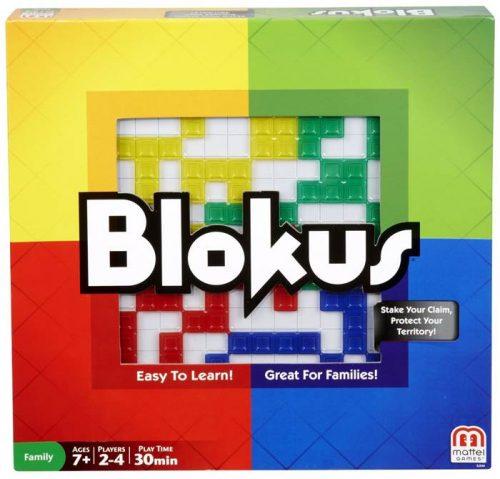Gra rodzinna Blokus, Mattel