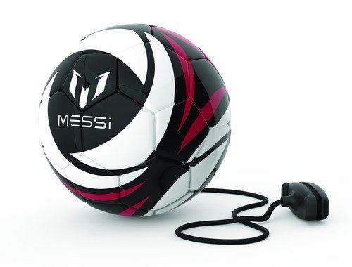 Piłka treningowa Messi 15 cm miękka Dumel Czarna MK0044A