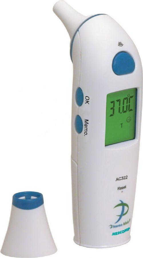 Termometr z kolorowym wyświetlaczem MesMed MM-322 PRIMO