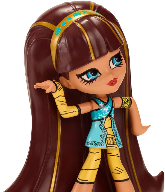 Monster High - Winylowe Figurki Cleo De Nile