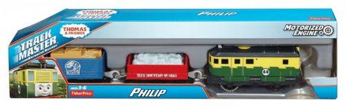 Thomas filmowe lokomotywki z napędem Track Master Fisher Price Philip
