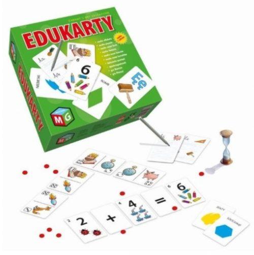 Edukacyjna gra edukarty wiek 5+