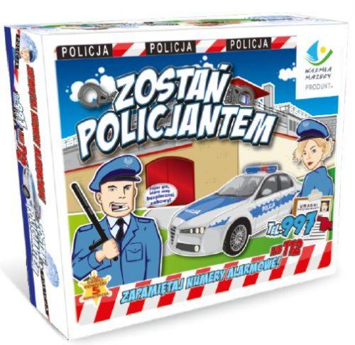Gry planszowe dla zostań policjantem