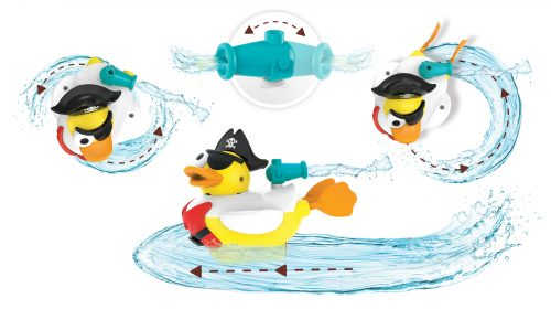 Yookidoo odrzutowa kaczka pirat zabawka do wanny