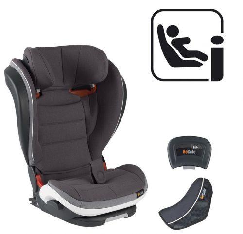 Besafe Izi Flex Fix I-Size 15-36 kg fotelik samochodowy Metaliczny Melange 02