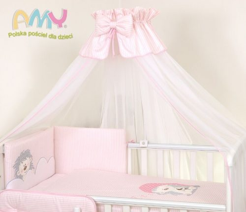 Amy Baldachim do łóżeczka jeżyk róż