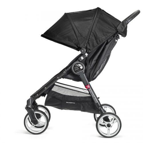 Kompaktowy lekki wózek spacerowy City Mini Baby Jogger - wersja 4 kołowa