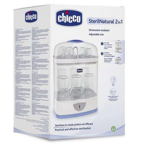 Modułowy sterylizator parowy 2w1 elektryczny Chicco