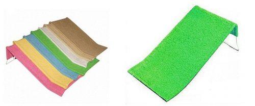 Leżaczek do kąpiel wysoki fortte z gruby Tega Baby Limonka - jasny zielony