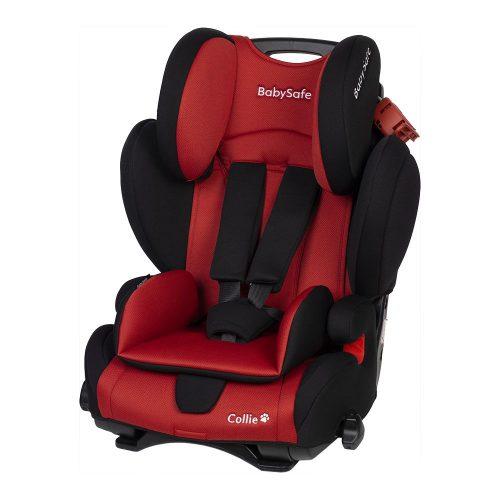 Fotelik samochodowy 9-36 kg Collie BabySafe kolor Czerwony plus mata ochronna gratis !