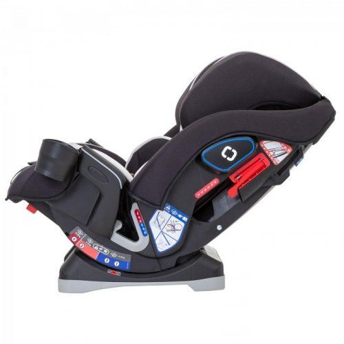 Bezpieczny fotelik samochodowy 0-36 kg Slimfit Graco Fiery Red