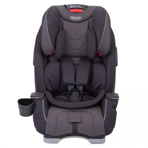 Fotelik samochodowy 0-36 kg Slimfit Graco tyłem i przodem Midnight Grey