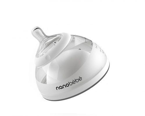 Butelka do karmienia przechowywania pokarmu 150 ml - szara NaNoBeBe