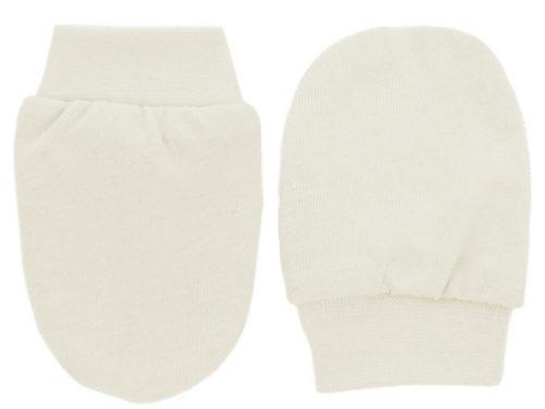 Ty i My Niedrapki rękawiczki dla niemowląt Kremowy