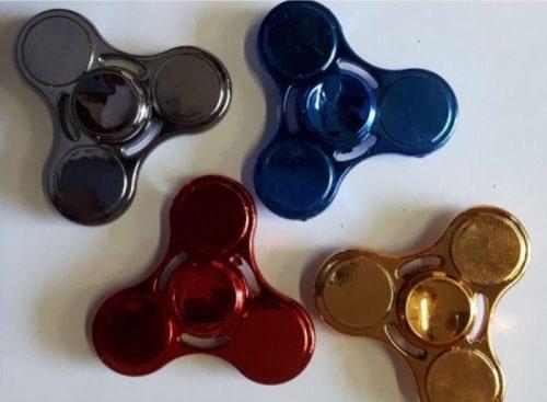 Spinner metalowy zabawka zręcznościowaNiebieski