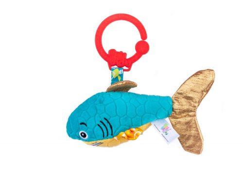 Zawieszka do wózka fotelika rekin niebieski Balibazoo 80140