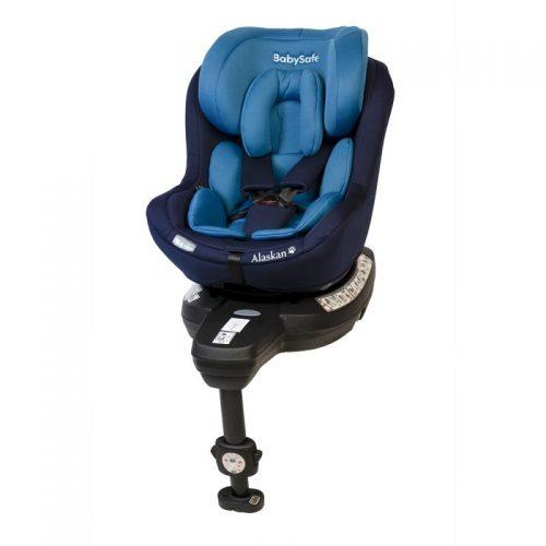 Fotelik samochodowy 0-18 kg i-Size Alaskan BabySafe Niebieski