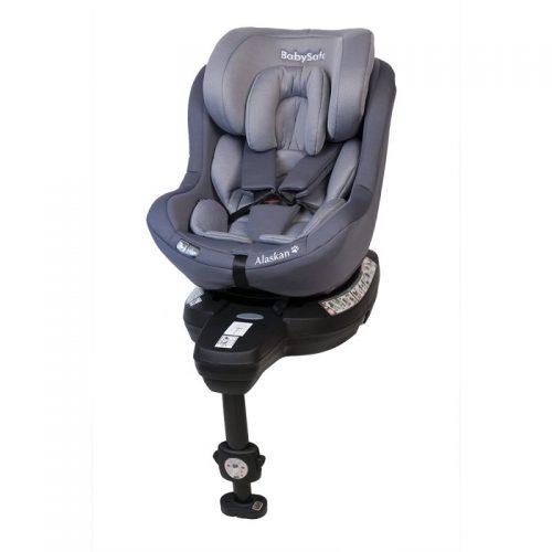 Fotelik samochodowy 0-18 kg i-Size Alaskan BabySafe Szary