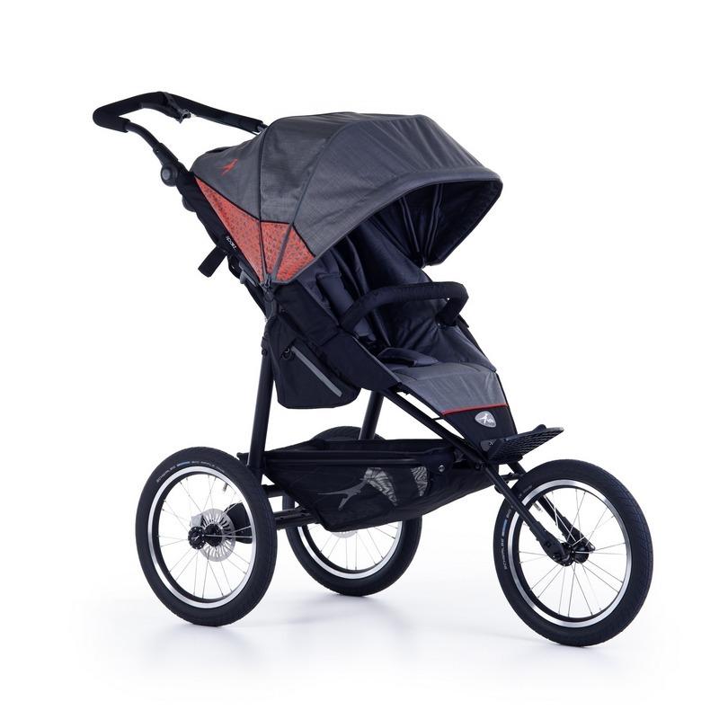 Wózek spacerowy do joggingu Joggster Sport 2 TFK kolor szary