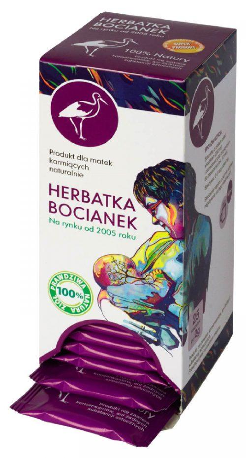 Ekspresowa herbatka ziołowa Bocianek dla karmiących matek