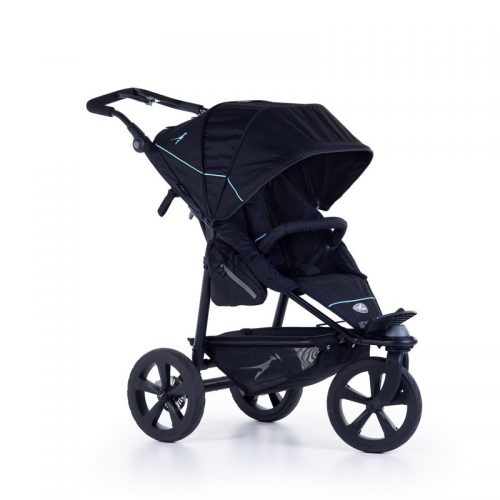 Wózek spacerowy na każdy teren Joggster Trail 2 TFK kolor czarny