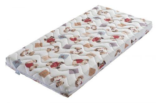 Materac do lóżeczka dziecięcego Pianka Labirynt 120x60x8 Tecomat Teedy Bear
