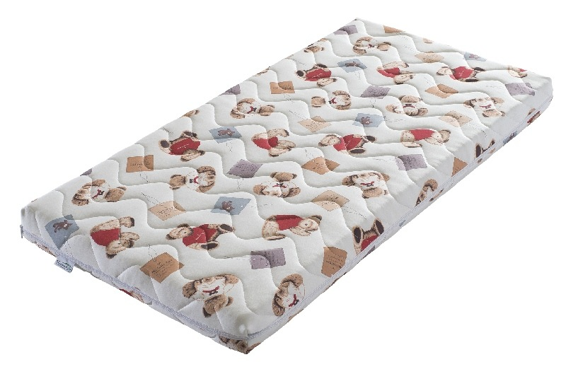 Materac do lóżeczka dziecięcego Pianka Labirynt 160x80  Tecomat Teedy Bear