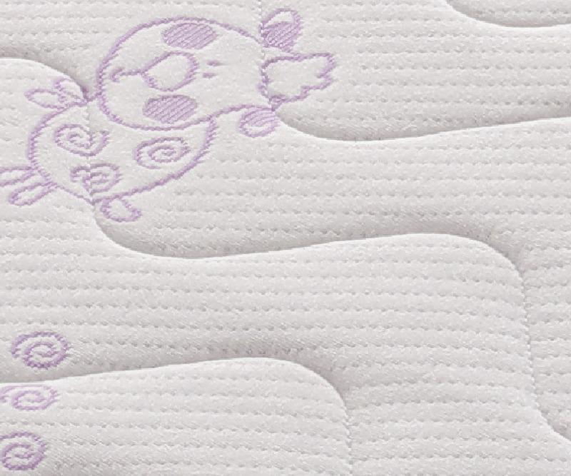 Materac do lóżeczka dziecięcego Pianka Labirynt 140X70 Tecomat pokrowiec 2421BC