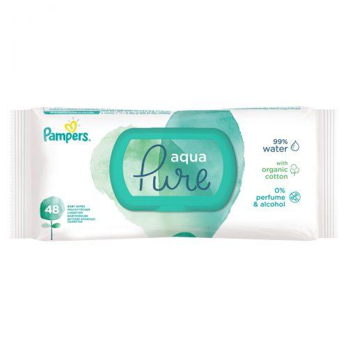 Chusteczki nawilżane do pupy Aqua Pure 48 szt zamykane