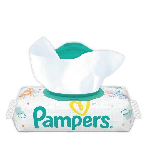 Zamykane chusteczki nawilżane Pampers Sensitive 56 szt