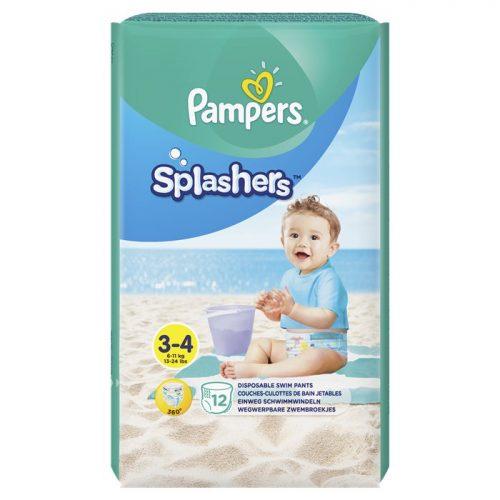 Pieluszki na basen i plażę 3-4 kg 12 szt., Pampers