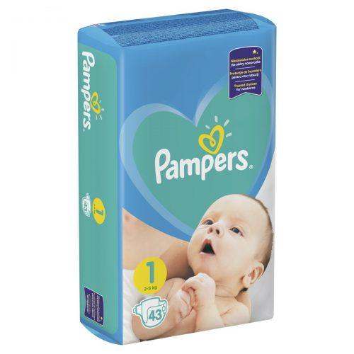 Pieluszki jednorazowe Pampers rozmiar 1  2-5 kg