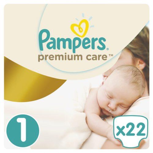 Pieluszki pampers rozmiar 1 Premium care 2-5 kg 22 szt