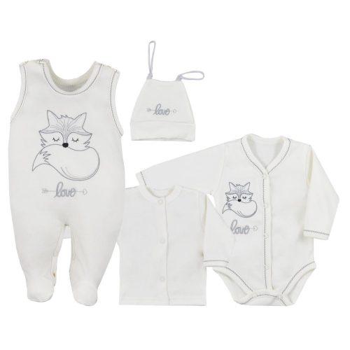 Wyprawka niemowlęca 4 el. Fox Love Koala Baby 50 Ecru