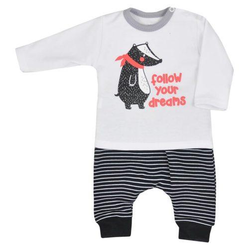 Bluzka + spodenki Borsuk Koala Baby 74 Biały