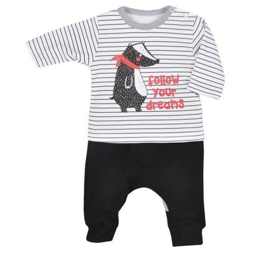 Bluzka + spodenki Borsuk Koala Baby 68 paski