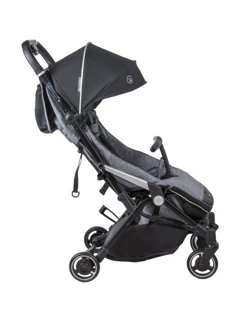 Wózek spacerwoy Coletto Lanza, lekka miejska spacerówka kolor Grey Melange