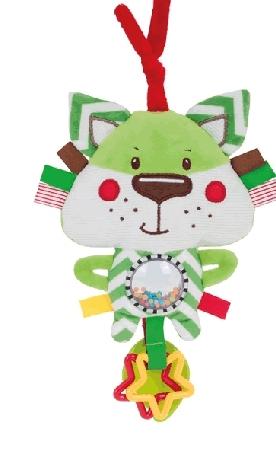 Pluszowa zabawka dla dzieci i niemowląt Forest Friends Canpol Babies Zielony