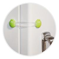 Zabezpieczenie wielofunkcyjne długie Canpol Babies - do szafek, szuflad, lodówek i toalet kolor Biały
