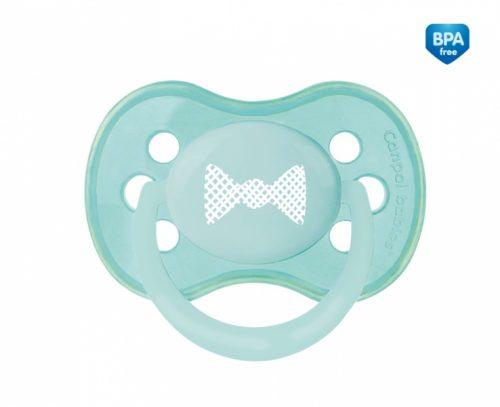 Smoczek symetryczny silikonowy 6-18 m PASTELOVE Canpol Babies