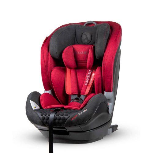 Fotelik samochodowy 9-36 Kg Coletto Impero Isofix kolor Czerwony