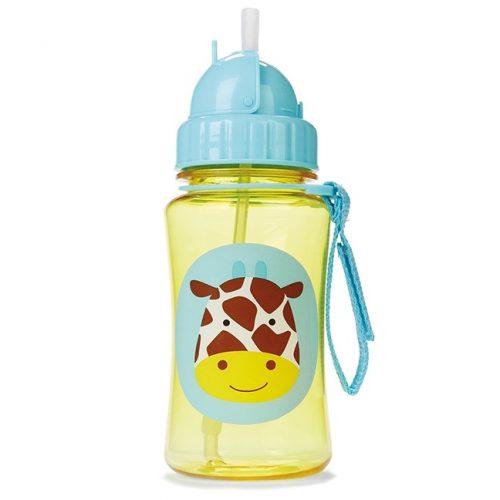 Bidon ze słomką 350 ml Żyrafa Skip Hop
