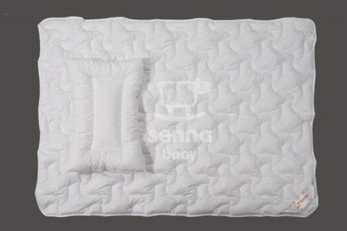 Antyalergiczny, naturalny komplet dziecięcy kołderka i poduszka Ingeo 135/100 Senna Baby
