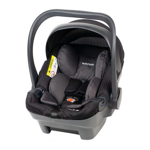 Fotelik samochodowy 0-13 kg Baby Safe York kolor Czarno Szary