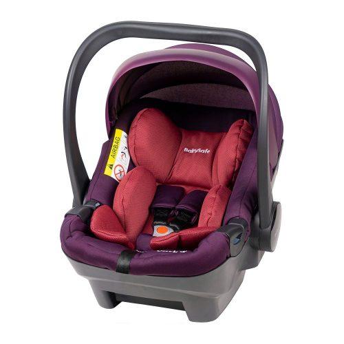 Fotelik samochodowy 0-13 kg Baby Safe York kolor Różowy